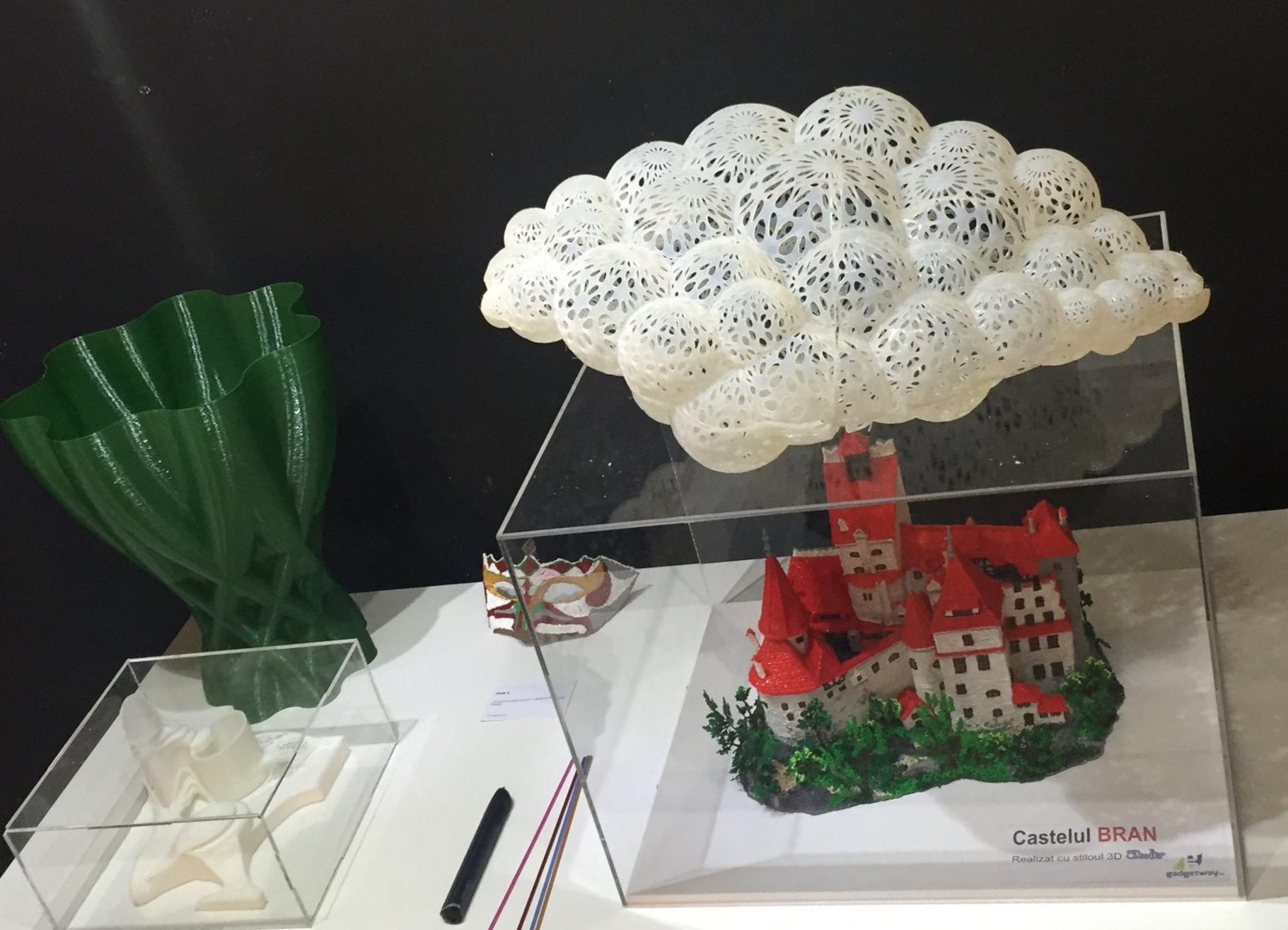 """INACO la standul expozițional """"Viitorul în 3D printing"""" la Romanian Design Week, 19 – 28 mai"""