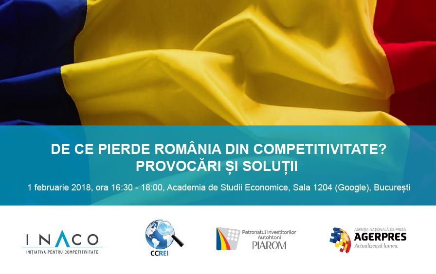 România a căzut pe locul 64 în lume la competitivitatea talentelor la începutul acestui an, de pe locul 55 anul trecut