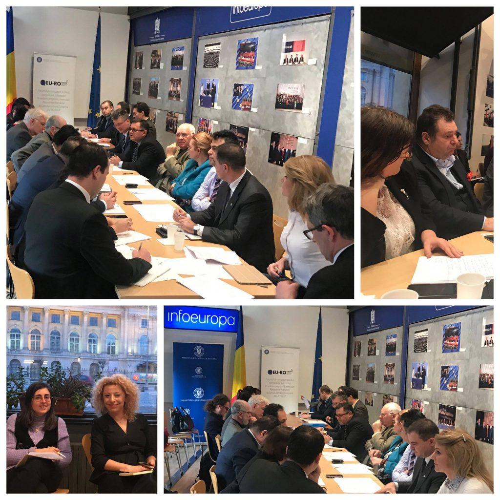 INACO co-prezidează Grupul de lucru dedicat COMPETITIVITĂȚII în cadrul Forumului de Consultare Publică pentru definirea priorităților Președinției României a Consiliului UE