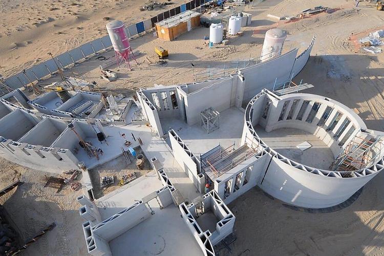 Record mondial: cea mai mare clădire tipărită 3D în Dubai
