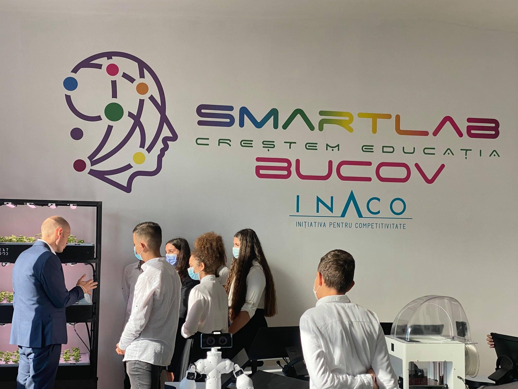 Primul Smart Lab din mediul rural românesc