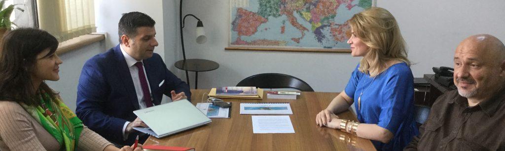 INACO s-a întâlnit azi cu ministrul pentru mediul de afaceri A. Petrescu. Propunere inedită