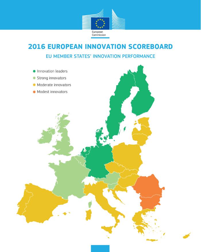 România la coada clasamentului european la performanța în inovare și, mai grav, în continuă scădere