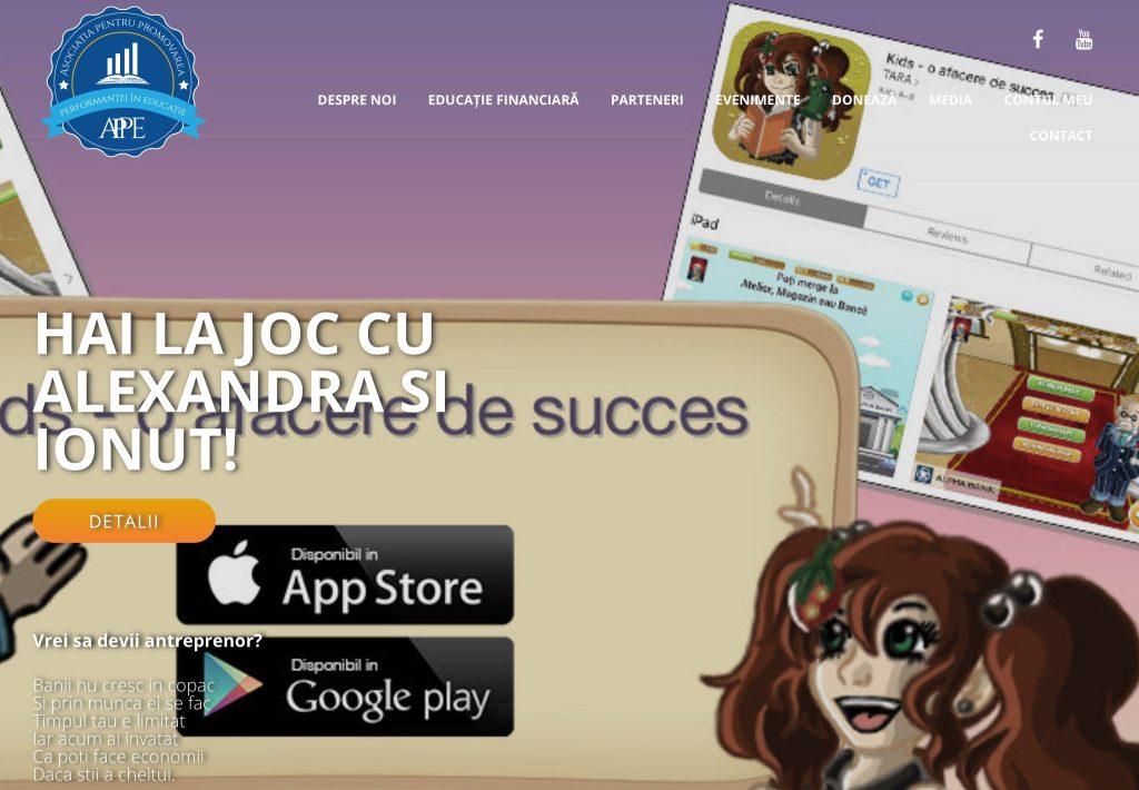"""""""KIDS – o afacere de succes"""", prima aplicație de educație financiară pentru pitici"""