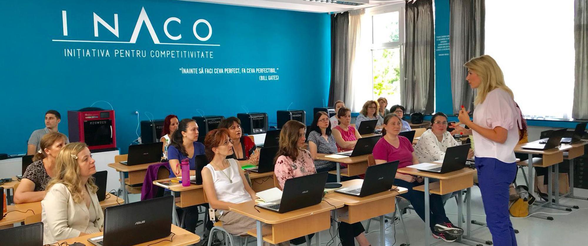 INACO a creat primul laborator inteligent Smart Lab 4.0 din școlile generale românești