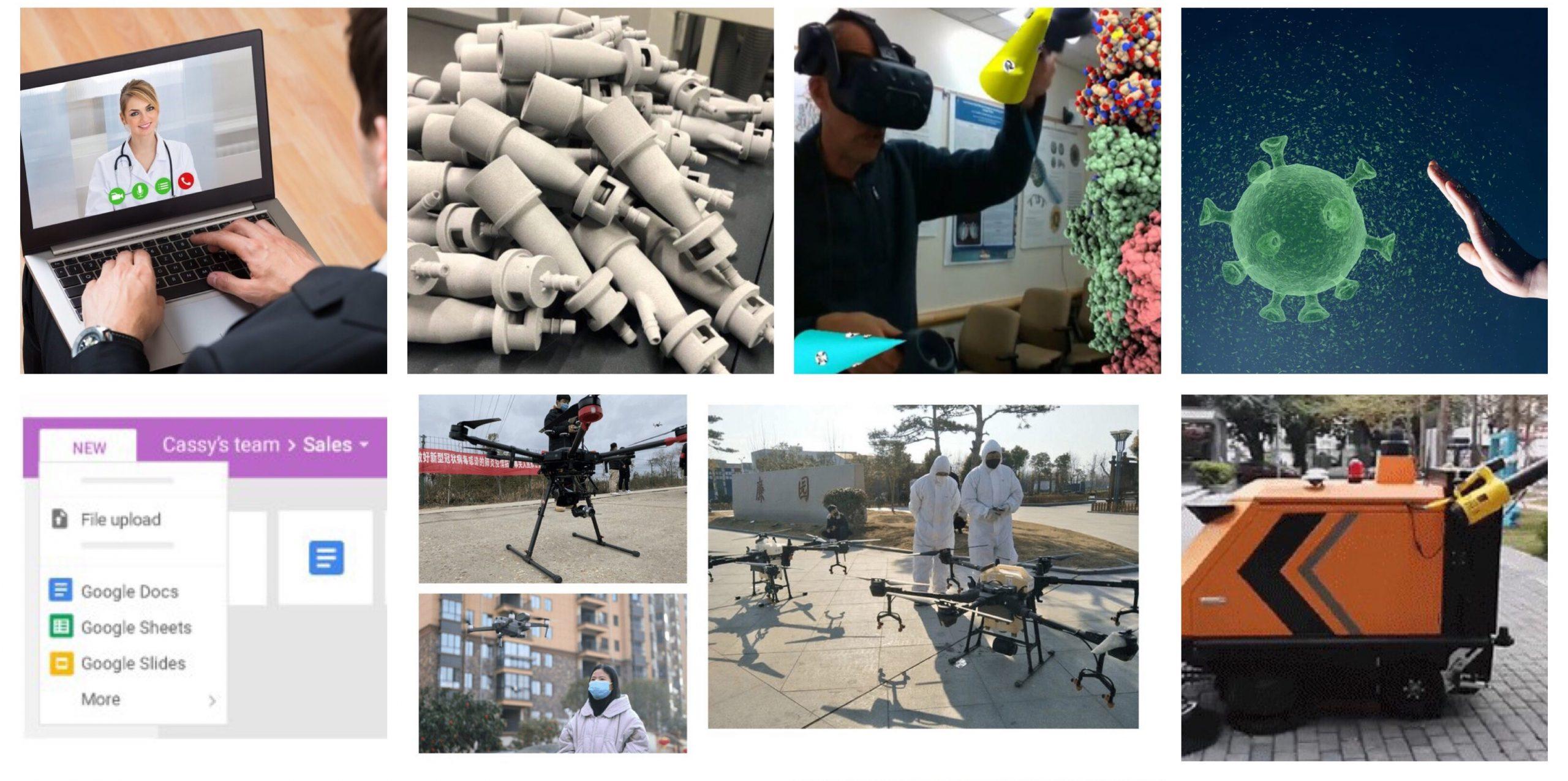 Tehnologii noi utile în timpul pandemiilor