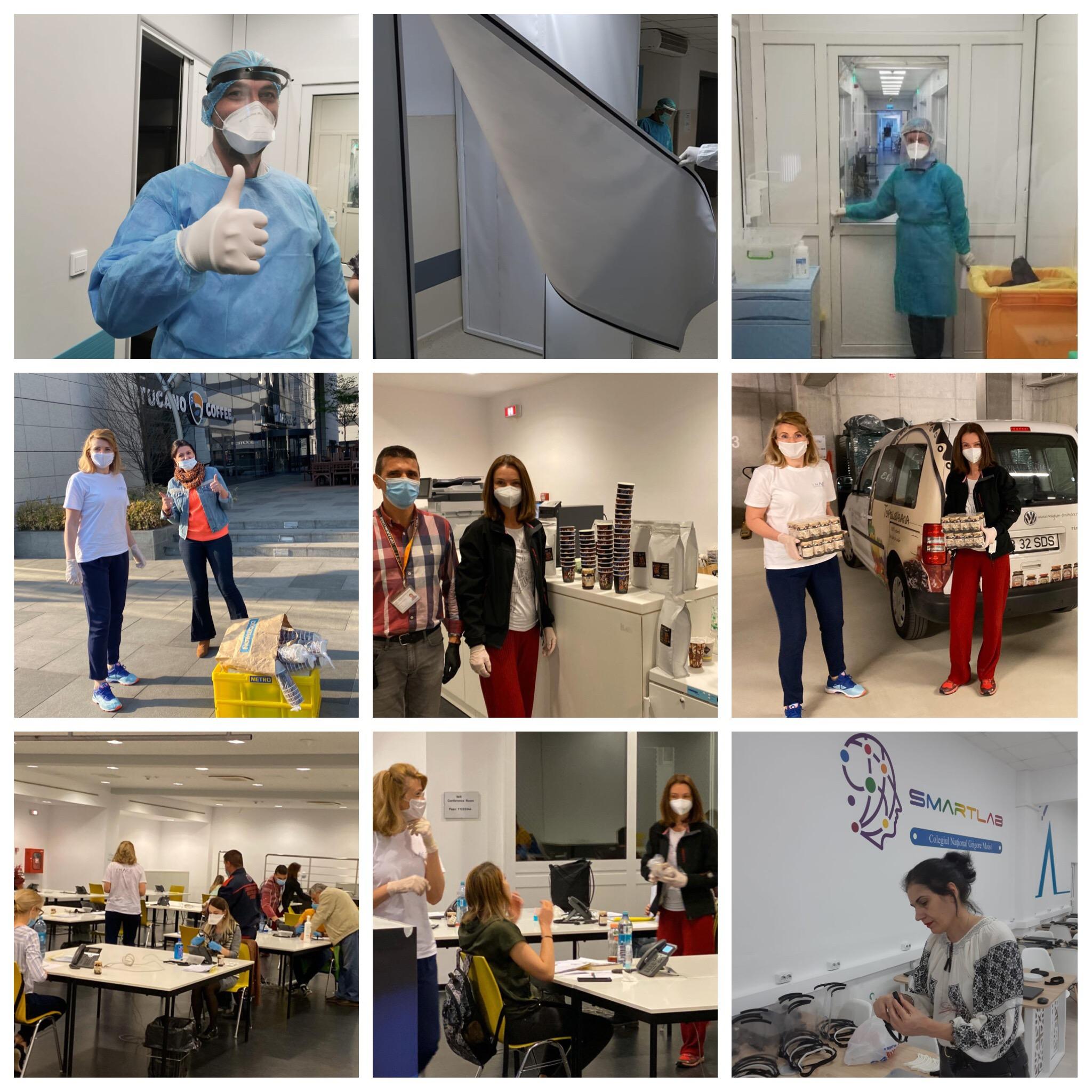 INACO donează bani și produse pentru spitale din București și Constanța