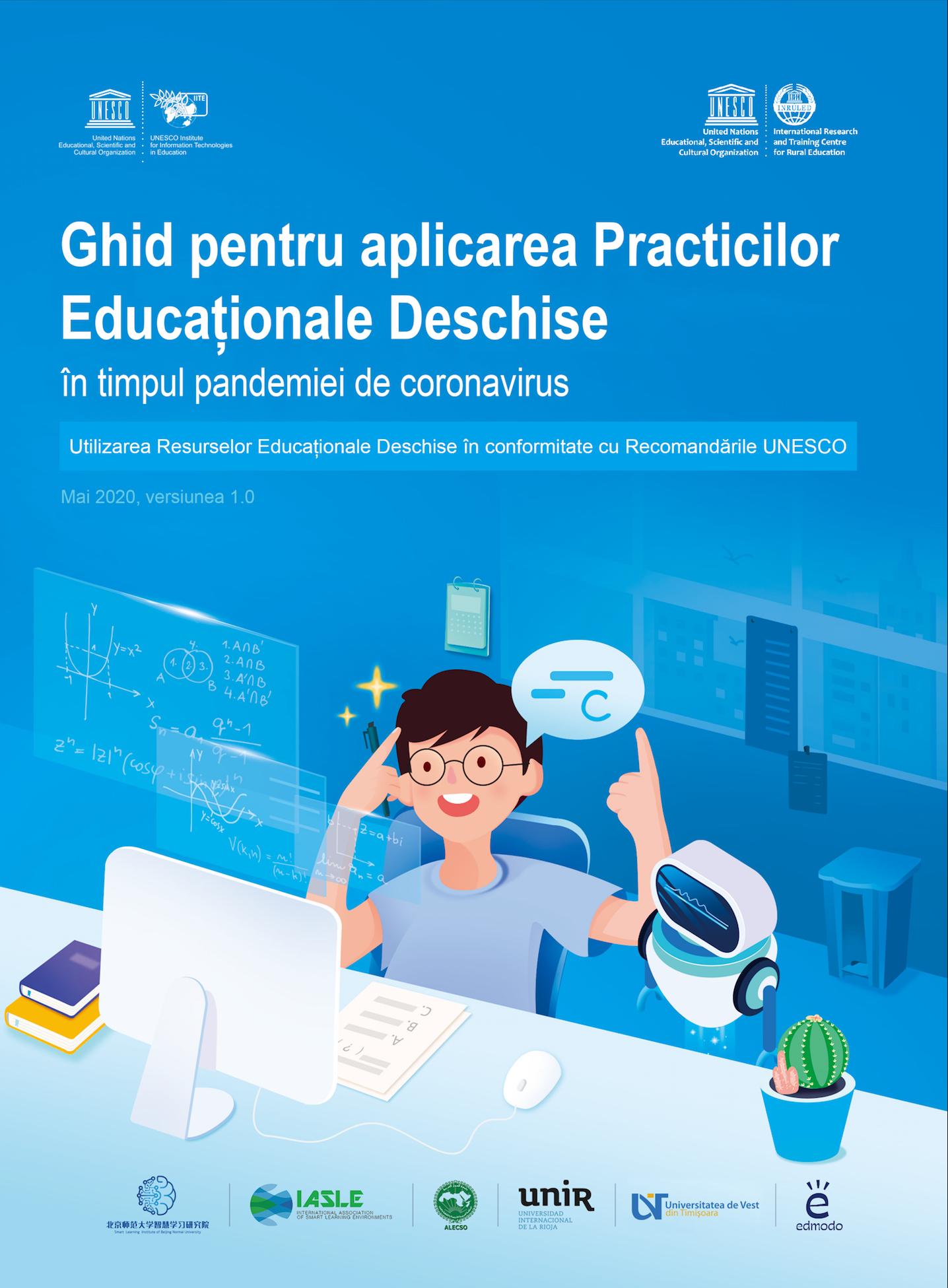 Ghid UNESCO despre practici și resurse educaționale deschise