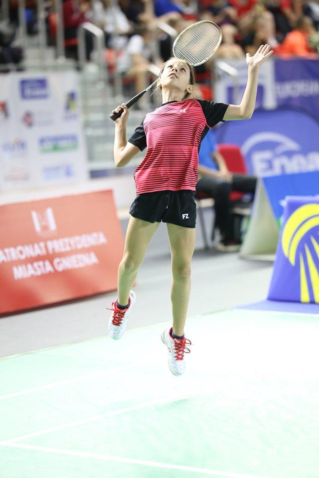 Copiii minune ai sportului românesc: Andra Stoica, în top și la școală și la badminton